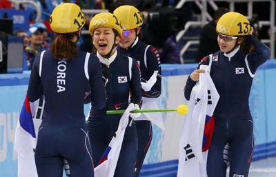 Relay gold eases Vancouver pain for South Korean women
