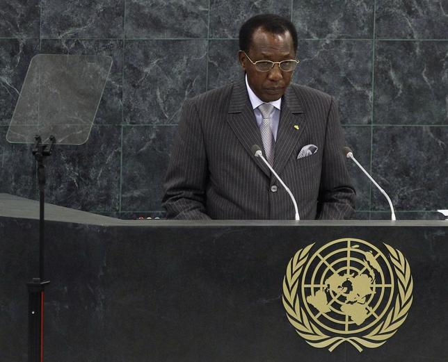 Chad's President Idriss Deby addresses the 68th United Nations General Assembly at UN headquarters in New York, September 25, 2013. REUTERS/Adam Hunger
