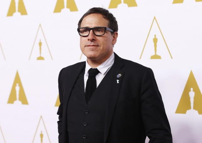 Best director nominee David O. Russell arrives at the 86th Academy Awards nominees luncheon in Beverly Hills, California February 10, 2014. REUTERS/Mario Anzuoni