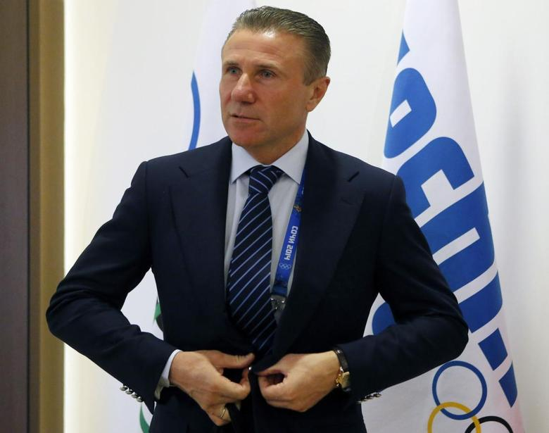 International Olympic Committee (IOC) member Sergei Bubka arrives to the IOC Executive Board meeting and 126th IOC Session in Sochi, February 2, 2014. REUTERS/Alexander Demianchuk
