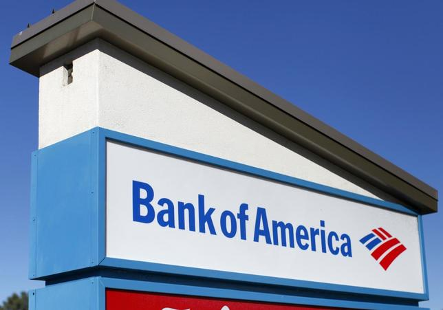 A Bank of America sign is pictured in Encinitas, California January 14, 2014. REUTERS/Mike Blake