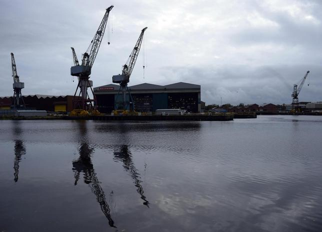 A general view of the BAE Systems yard at Govan on the river Clyde in Glasgow, Scotland November 6, 2013. REUTERS/Russell Cheyne
