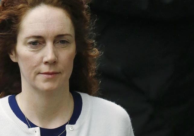 Former News International chief executive Rebekah Brooks arrives at the Old Bailey courthouse in London February 20, 2014. REUTERS/Luke MacGregor