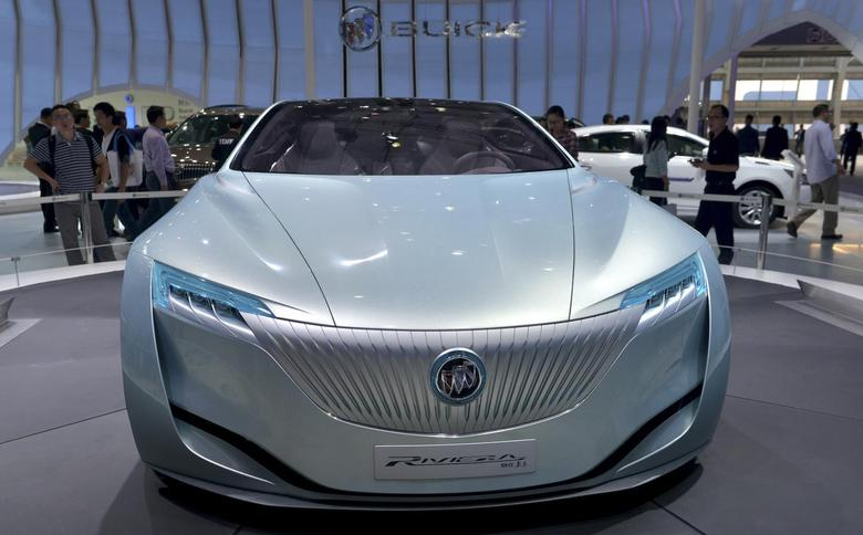 A Buick Riviera Concept car is seen at the Guangzhou International Automobile Exhibition in Guangzhou, Guangdong province, November 22, 2013. REUTERS/Stringer