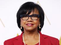 Academy President Cheryl Boone Isaacs arrives at the 86th Academy Awards nominees luncheon in Beverly Hills, California February 10, 2014. REUTERS/Mario Anzuoni
