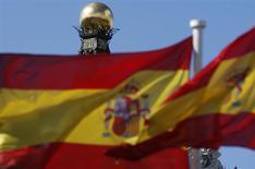 """Moody's a relevé la note de crédit de l'Espagne à """"Baa2"""" tout en lui conférant une perspective positive, prenant acte d'un rééquilibrage de son économie en direction d'un modèle de croissance durable. /Photo d'archives/REUTERS/Sergio Perez"""