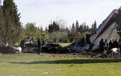 Libyan official, patients killed as military plane crashes in Tunisia