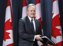 Bank of Canada Governor Stephen Poloz arrives at a news conference upon the release of the Monetary Policy Report in Ottawa January 22, 2014. REUTERS/Chris Wattie