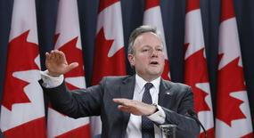 Bank of Canada Governor Stephen Poloz speaks during a news conference upon the release of the Monetary Policy Report in Ottawa January 22, 2014. REUTERS/Chris Wattie