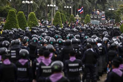 Thai protesters turn in SIM cards seen linked to PM's...