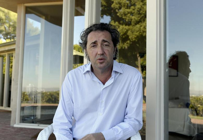 Paolo Sorrentino, director of Oscar nominated foreign-language film ''The Great Beauty'', poses in Los Angeles, California, January 16, 2014. REUTERS/Kevork Djansezian