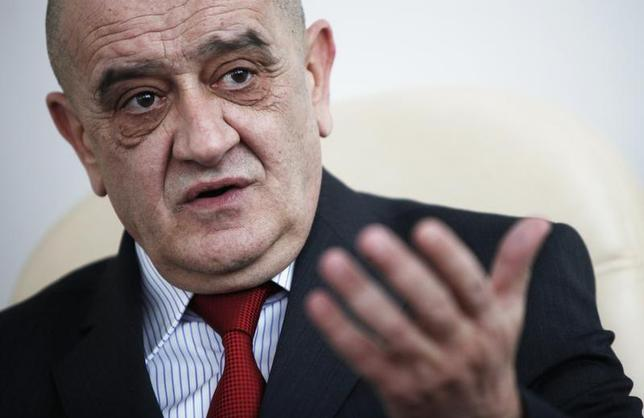 Bosnia's Prime Minister Vjekoslav Bevanda speaks during interview with Reuters in his office in Sarajevo, February 21, 2012. REUTERS/Dado Ruvic
