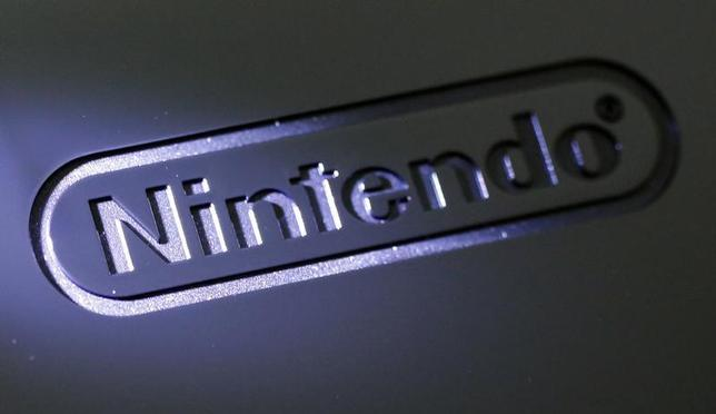 A logo of Nintendo Co is seen on the company's Wii U game console at the company headquarters in Kyoto, western Japan January 7, 2013. REUTERS/Yuriko Nakao