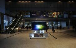 Technicolor annonce la signature d'un accord de licence avec Sony pour l'utilisation des brevets du français dans les télévisions numériques fabriquées par le groupe japonais. /Photo prise le 6 février 2014/REUTERS/Toru Hanai