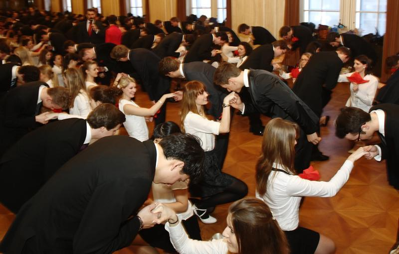 The Opera Ball in Vienna