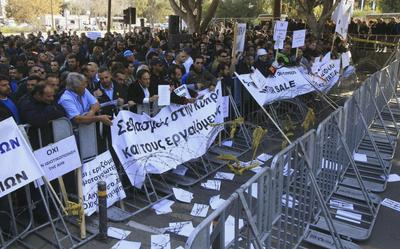Cyprus faces fresh bailout uncertainty after privatization vote