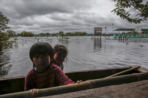 Flooding in Bolivia
