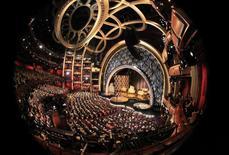 Ellen Degeneres apresenta a 86ª cerimônia de entrega do Oscar no Teatro Dolby, em Los Angeles, no domingo. 02/03/2014 REUTERS/Lucy Nicholson