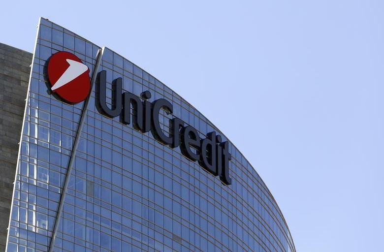 Italy's largest bank UniCredit is pictured in downtown Milan September 12, 2013. REUTERS/Stefano Rellandini (