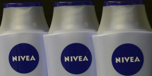Nivea products of German company Beiersdorf AG are pictured in Hamburg, October 31, 2012 file photo. REUTERS/Fabian Bimmer