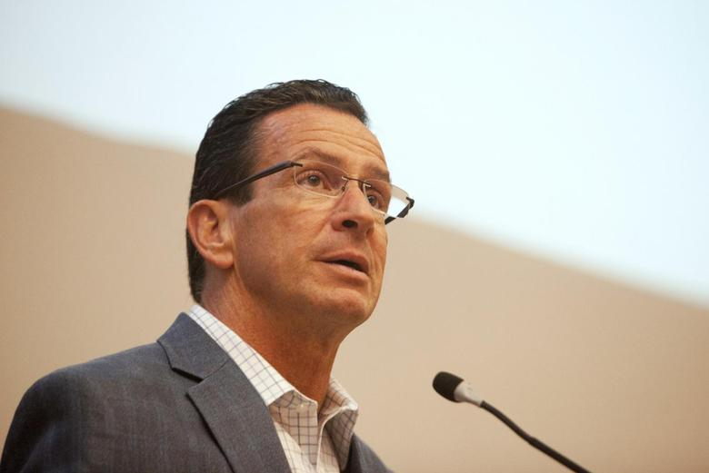 Connecticut Governor Dannel P. Malloy addresses the Marching On conference on gun violence prevention in Middletown, Connecticut September 28, 2013. REUTERS/Michelle McLoughlin