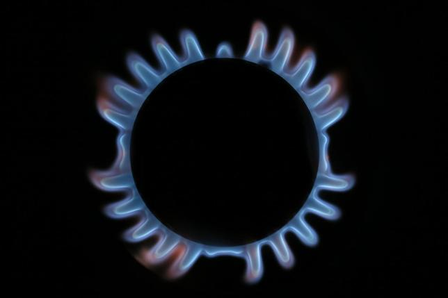 A gas hob is seen in this photo illustration taken in London December 2, 2013. REUTERS/Stefan Wermuth