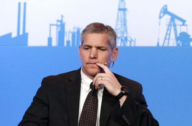 Russ Girling, chief executive of TransCanada Corp, waits to speak at the annual IHS CERAWeek conference in Houston, Texas March 4, 2014. REUTERS/Rick Wilking
