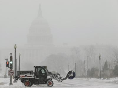 Weather restrains U.S. private hiring, services sector...