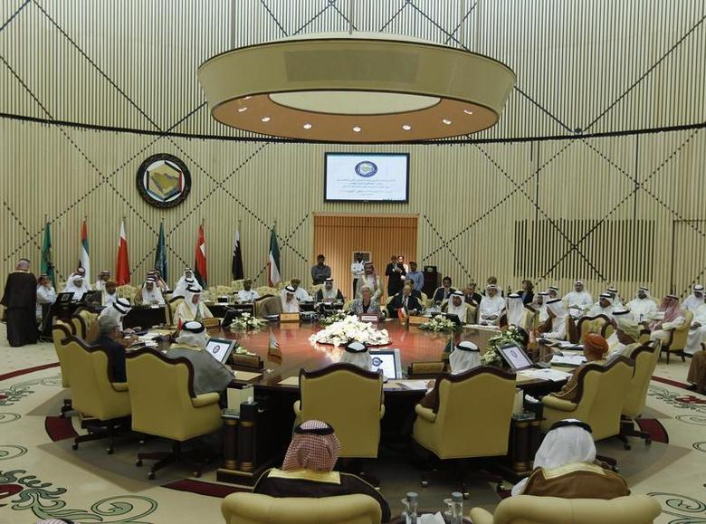 The Gulf Cooperation Council (GCC) finance ministers meet in Riyadh October 6, 2012. REUTERS/Fahad Shadeed