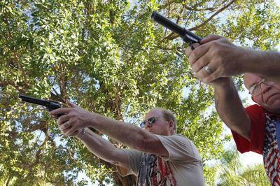 Florida mayor fights backyard gun ranges in 'Gunshine...