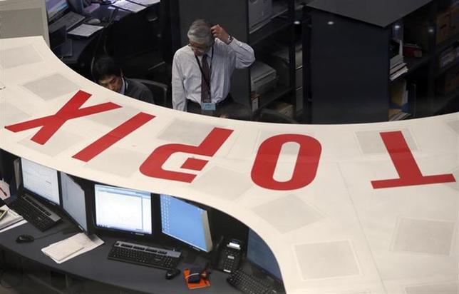 3月7日、来週の東京株式市場は神経質な展開となりそうだ。今月3日撮影(2014年 ロイター/Issei Kato)