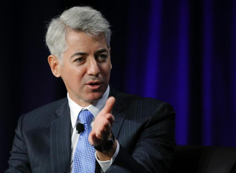 William Ackman, CEO of Pershing Square Capital Management, speaks at the Partner Connect 2013 conference, sponsored by Thomson Reuters, in Boston April 5, 2013. REUTERS/Brian Snyder