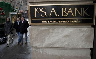 Men's Wearhouse stitches up deal to buy Jos. A. Bank