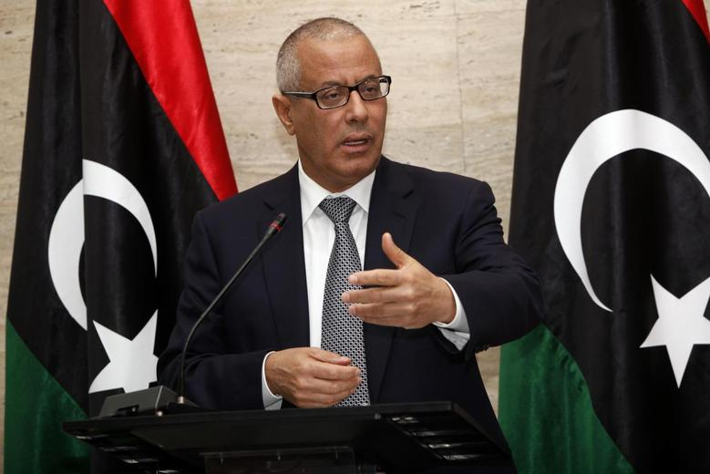 Libya's Ali Zeidan speaks during a news conference in Tripoli March 8, 2014 file photo. REUTERS/Ismail Zitouny