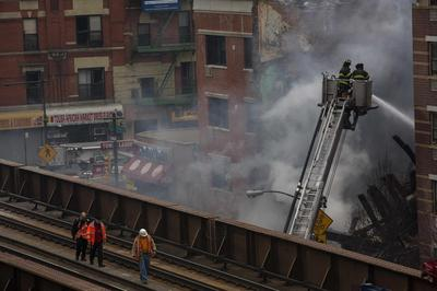 NYC buildings explosion kills three, others missing