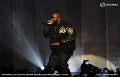 Rapper Rick Ross of the U.S. performs during the MTV Africa Music Awards in Lagos December 11, 2010 file photo. REUTERS/Akintunde Akinleye