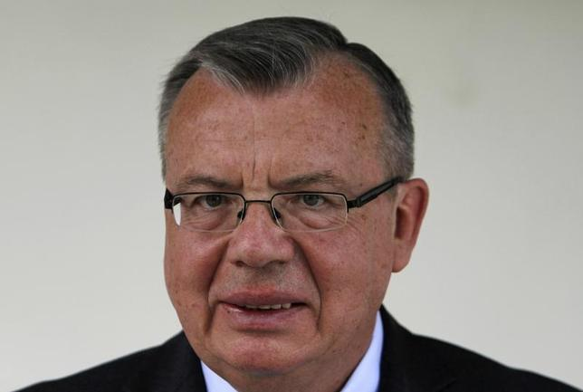 United Nations Office on Drugs and Crime (UNODC) Executive Director Yury Fedotov speaks during a news conference in Kabul May 29, 2012. REUTERS/Mohammad Ismail