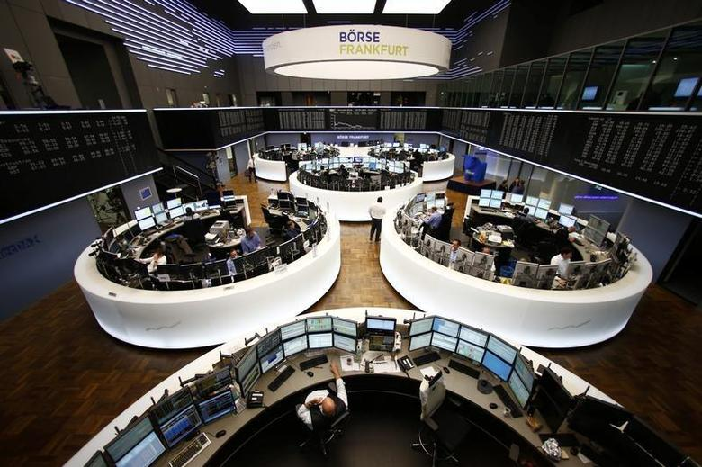 A general view of Frankfurt stock exchange March 3, 2014. REUTERS/Ralph Orlowski