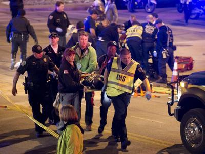 Motorist slams car into crowd near Texas SXSW festival...