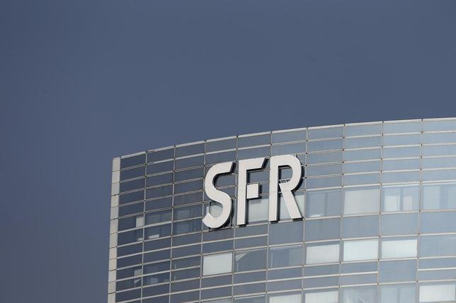 A general view shows French telecom operator SFR's building in the financial district of le Defense at Nanterre, west of Paris, March13, 2014. REUTERS/Charles Platiau