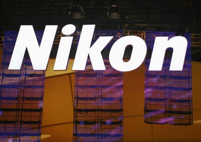 A sign hangs in the Nikon booth on the first day of the Consumer Electronics Show (CES) in Las Vegas January 8, 2013. REUTERS/Rick Wilking