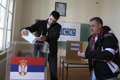 Serbia's center-right to tighten grip on power in...
