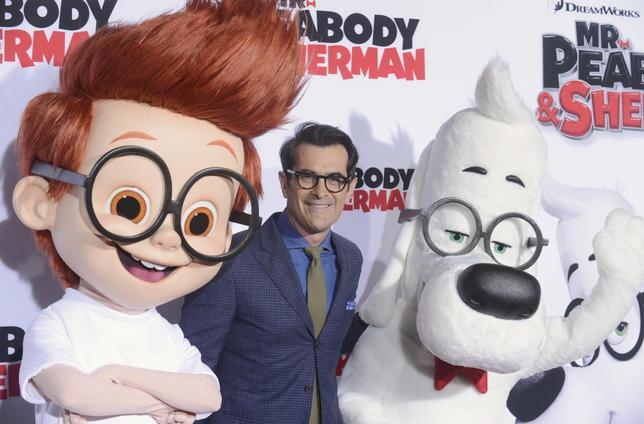Cast member Ty Burrell attends the premiere of the film ''Mr. Peabody and Sherman'' in Los Angeles March 5, 2014. REUTERS/Phil McCarten