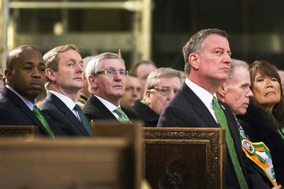 New York's St. Patrick's parade marches on amid gay...