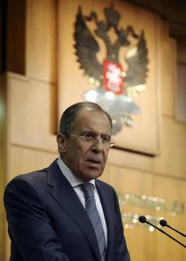 Russia's Foreign Minister Sergei Lavrov speaks during a news conference in Moscow March 20, 2014. REUTERS/Sergei Karpukhin