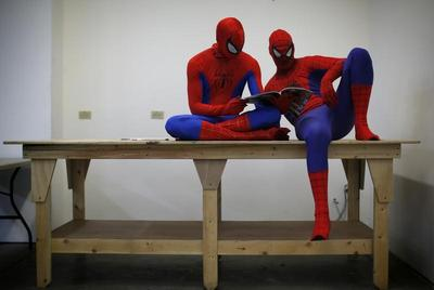 Superheroes, they're everywhere