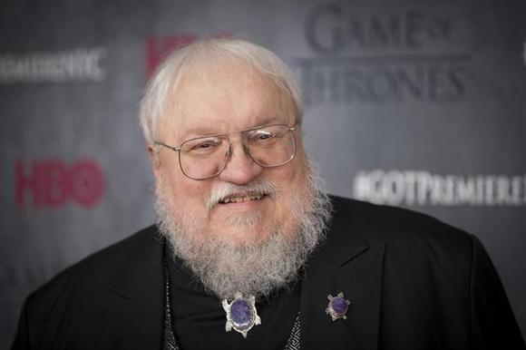 Author and co-executive producer George R.R. Martin arrives for the premiere of the fourth season of HBO series ''Game of Thrones'' in New York March 18, 2014. REUTERS/Lucas Jackson