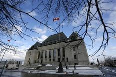 The Supreme Court building is pictured in Ottawa March 21, 2014. REUTERS/Chris Wattie