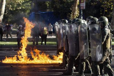 Protesters in Chile keep heat on Bachelet to make good...