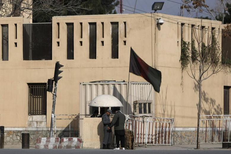A general view of the Serena Hotel in Kabul March 21, 2014, a day after it was attacked by gunmen. REUTERS/Mohammad Ismail